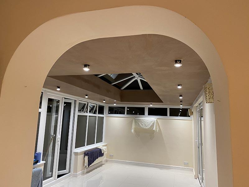 Conservatroy plastering in Basingstoke